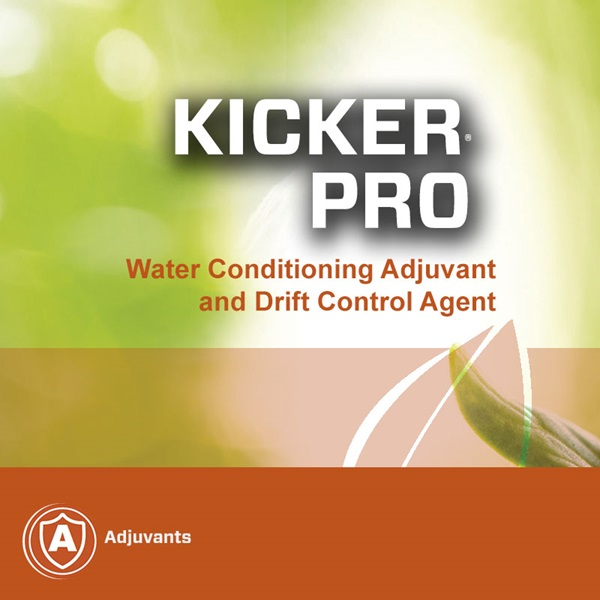 Kicker Pro water conditioning and drift control agent